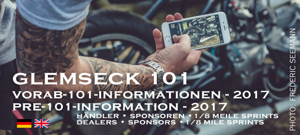 Glemseck 101 - 2016 - Teaser - Pre Information - 2017