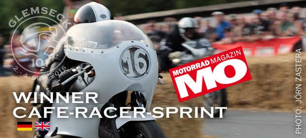 Glemseck 101 - 2016 - Teaser - Winner - MO Cafe Racer Sprint