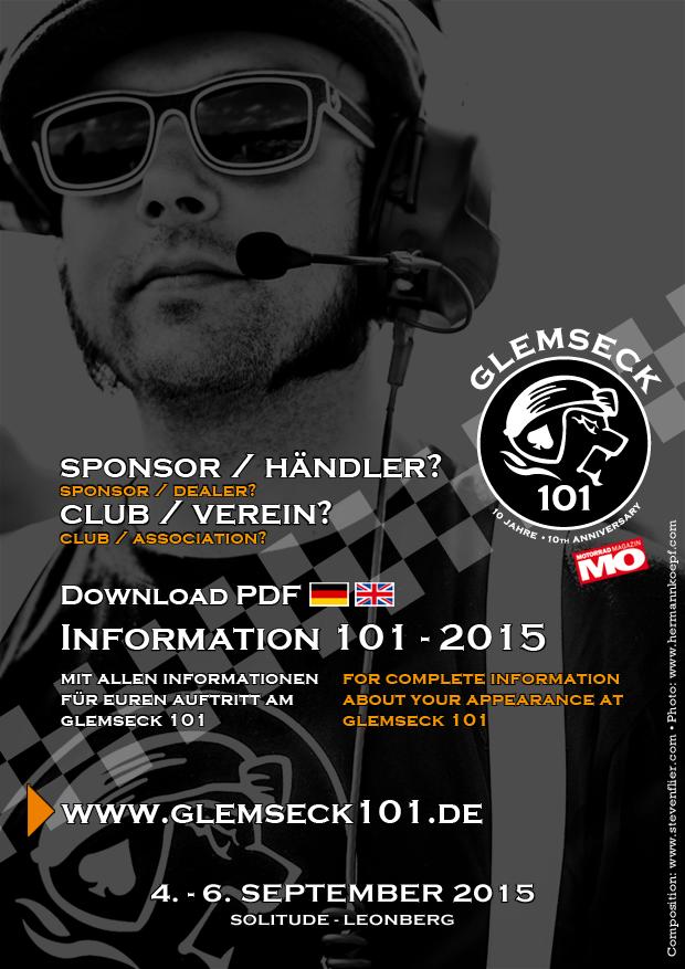 Glemseck 101 - 2015 - Image DE UK - Information Sponsors and Clubs