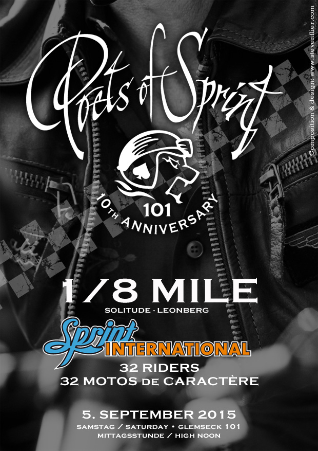 Glemseck 101 - 2015 - 10th Round - Poets of Sprint - Sprint International - Webposter