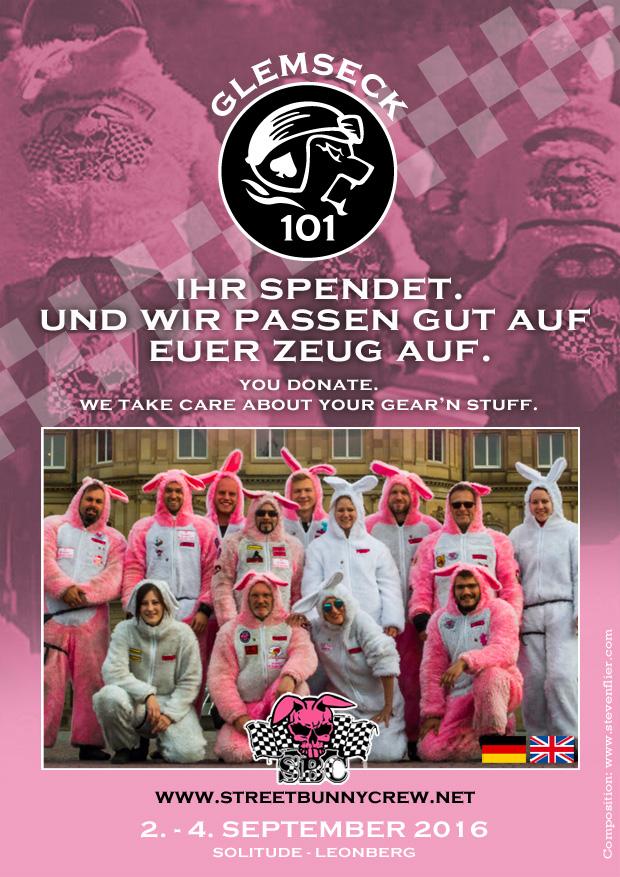 Glemseck 101 - 2016 - Web-Poster - Streetbunnycrew