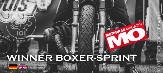 Glemseck 101 - 2016 - Teaser - Winner - Boxer-Sprint - Motorrad Magazin MO