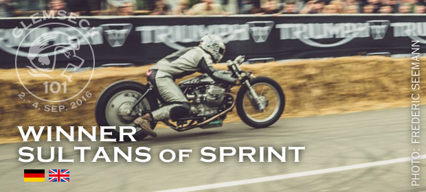 Glemseck 101 - 2016 - Teaser - Winner - Sultans of Sprint