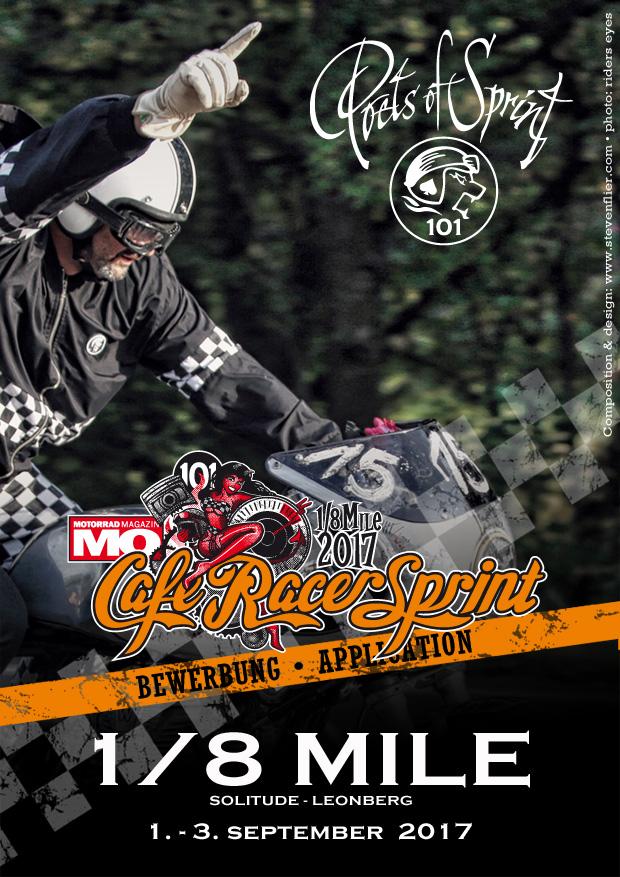 Glemseck 101 - 2017 - Web-Poster -MO Cafe Racer Sprint