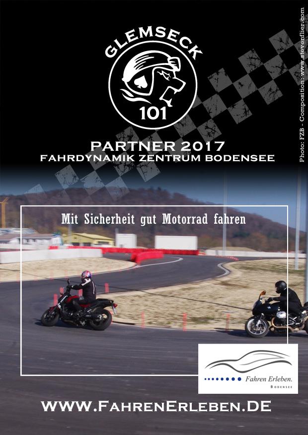 Glemseck 101 - 2017 - Web-Poster - Partner Fahrdynamik Zentrum Bodensee