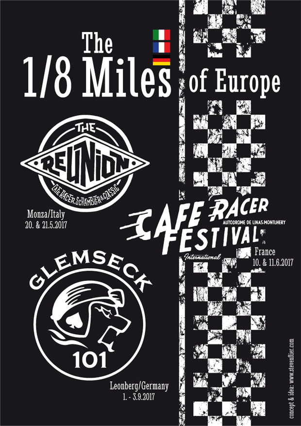 Glemseck 101 - 2017 - Web-Poster - The 1/8 Miles of Europe