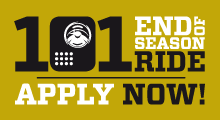 101 End Of Season Ride - Apply Now!