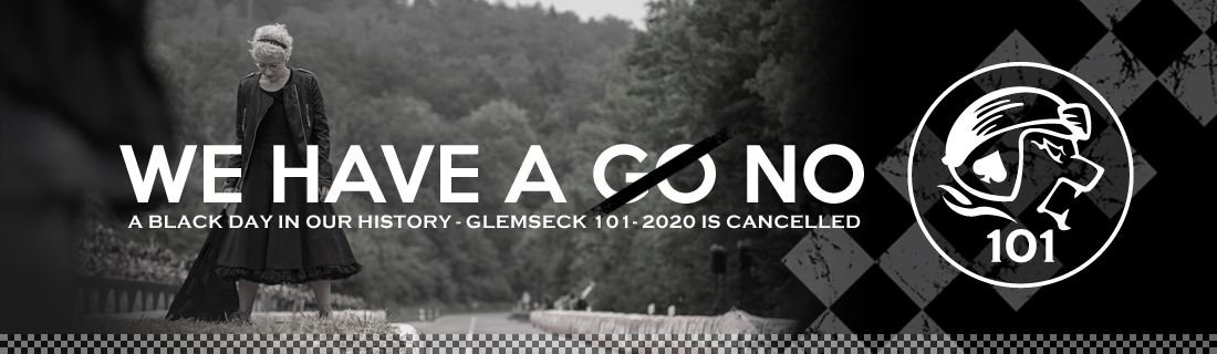 Our hearts are bleeding! We cancel our Glemseck 101-2020 and postpone Round 15 to 2021